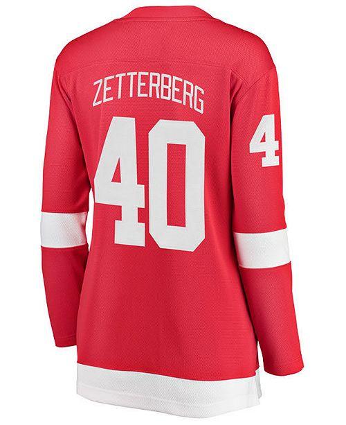 cheap for discount 073ab 546ab Women's Henrik Zetterberg Detroit Red Wings Breakaway Player Jersey