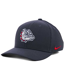 Nike Gonzaga Bulldogs Anthracite Classic Swoosh Cap