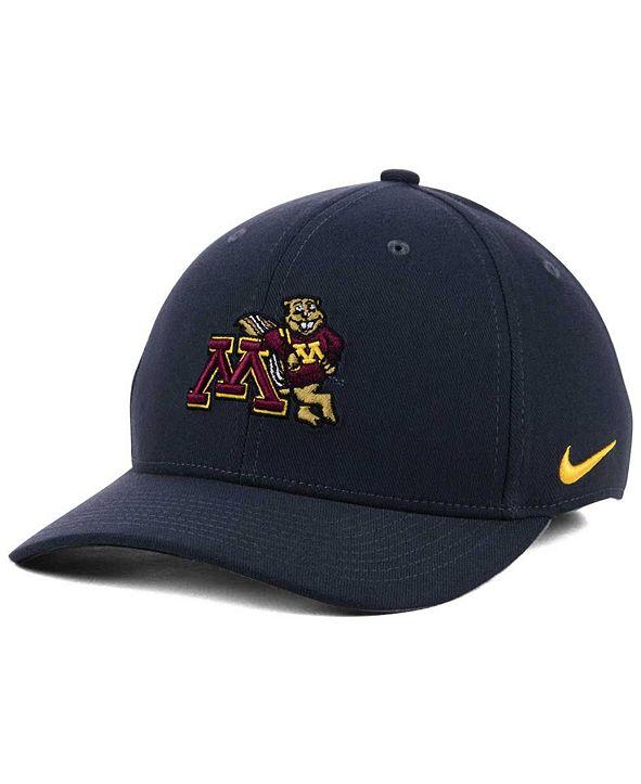 Nike Minnesota Golden Gophers Anthracite Classic Swoosh Cap