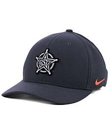 Oklahoma State Cowboys Anthracite Classic Swoosh Cap