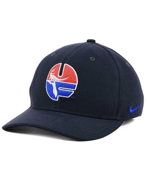 timeless design 6e851 766bb ... Nike Florida Gators Anthracite Classic Swoosh Cap ...