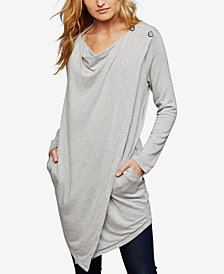 Splendid Draped Nursing Sweater