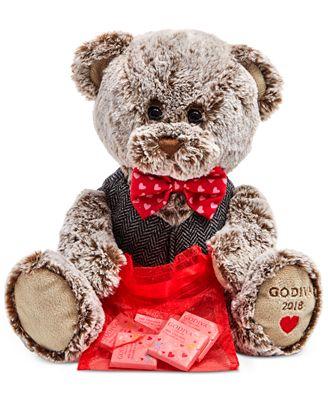 Godiva 2018 Plush Bear