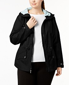 Plus Size Regretless Waterproof Jacket