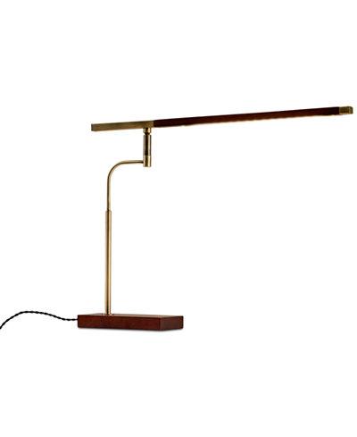 Adesso Barrett LED Desk Lamp with USB Port