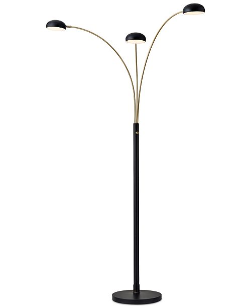 Finn LED Arc Floor Lamp