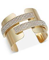 I.N.C. Pavé Cuff Bracelet, Created for Macy's