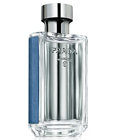 Receive a Complimentary Deluxe Mini with any large spray purchase from the L'Homme Prada fragrance collection