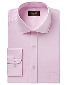 Tasso Elba Men's Classic/Regular Fit Non-Iron Royal Oxford Dress Shirt, Created for Macy's