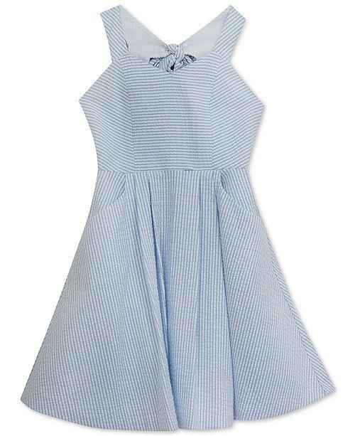 Rare Editions Seersucker Dress, Big Girls & Reviews - Dresses - Kids ...