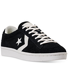 Converse Men's Pro Leather 76 Vintage Suede Low Top Casual Sneakers from Finish Line