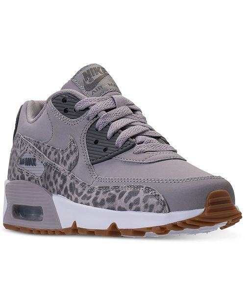 b87c0a9c7010 ... Nike Big Girls  Air Max 90 Leather Running Sneakers from Finish Line ...