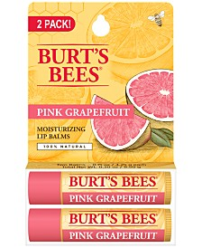 Burt's Bees 2-Pc. Pink Grapefruit Refreshing Lip Balm