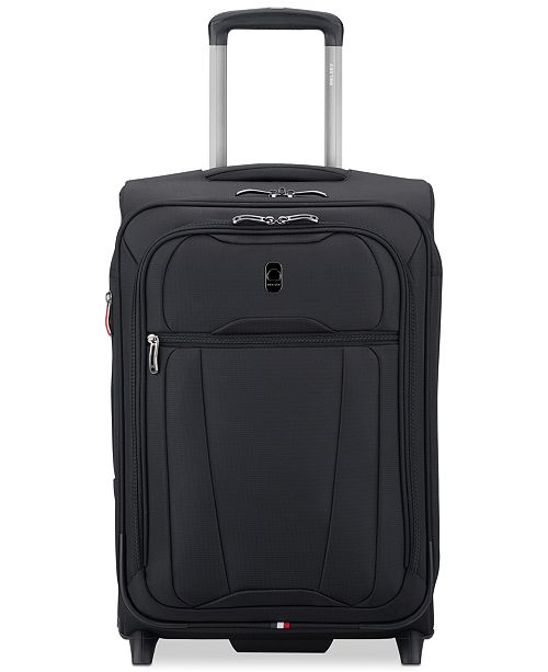"Delsey Helium 360 20"" Expandable 2-Wheel Carry-On Suitcase, Created for Macy's"