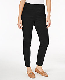 Karen Scott Petite Short Pull-On Pants, Created for Macy's