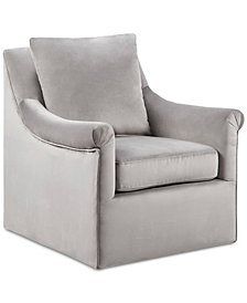 Deanna Swivel Chair, Quick Ship