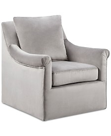 Ellis Swivel Chair, Quick Ship