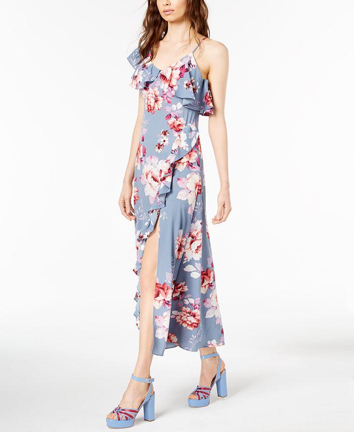 Jill Jill Stuart - Floral-Print Asymmetrical Dress