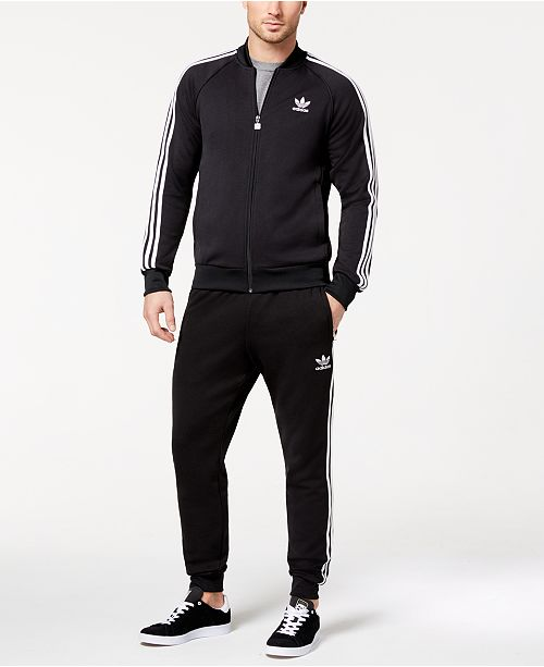 eb801b0920fd9 ... adidas adidas Men's Originals Superstar Track Jacket & Training ...
