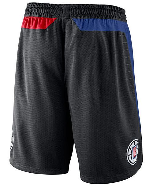 Nike Men s Los Angeles Clippers Statement Swingman Shorts - Sports ... 811161d70