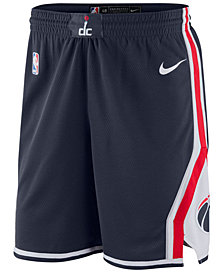 Nike Men's Washington Wizards Statement Swingman Shorts