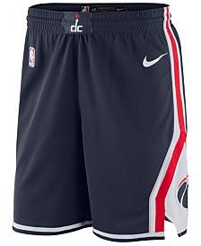 Nike Men's Washington Wizards Statement Swingman Shorts