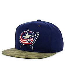 CCM Columbus Blue Jackets Fashion Camo Snapback Cap