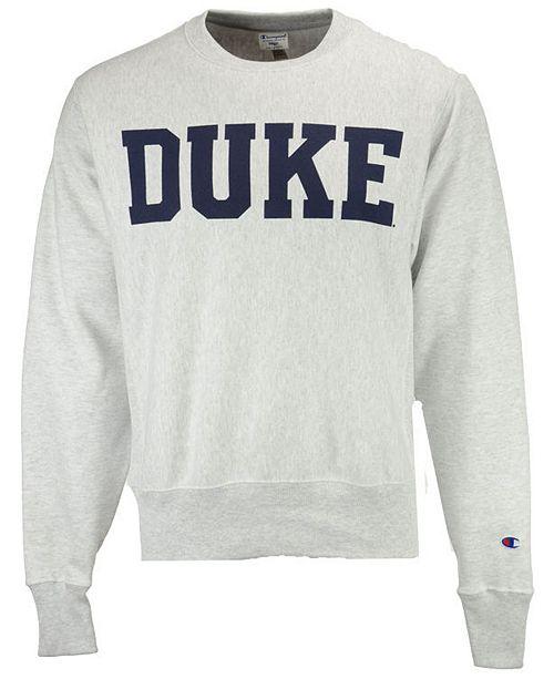 brand new 5ee5e 2d834 Men's Duke Blue Devils Reverse Weave Crew Sweatshirt