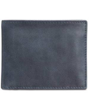 image of Tasso Elba Men-s Abott Traveler Leather Bifold Wallet, Created for Macy-s