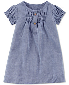 Carters Little Planet Organics  Chambray Cotton Dress, Baby Girls