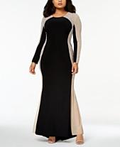 07ea08c789d Xscape Trendy Plus Size Beaded Illusion Gown