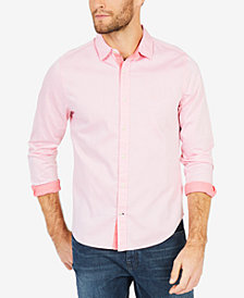 Nautica Men's Two-Tone Twill Shirt