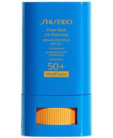 Clear Stick UV Protector Broad Spectrum SPF 50+, 0.52-oz.