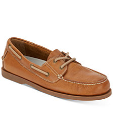 G. H. Bass & Co. Men's 2-Eye Asbury Boat Shoes, Created for Macy's