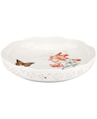 Serveware, Butterfly Meadow Low Serving Bowl