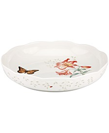 Butterfly Meadow Low Serving Bowl