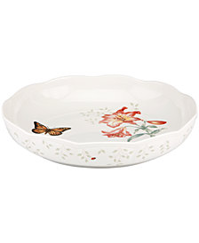 Lenox Serveware, Butterfly Meadow Low Serving Bowl