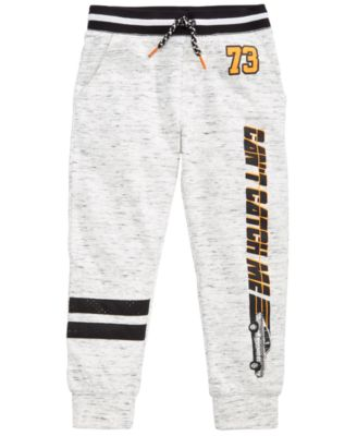Graphic-Print Jogger Pants, Little Boys, Created for Macy's