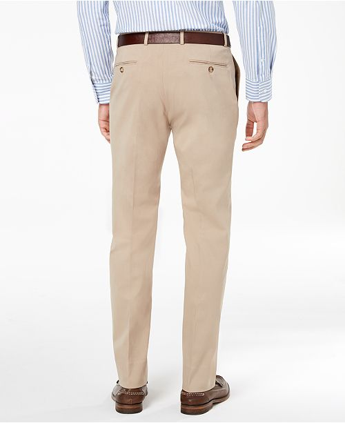 bd088ffed8cc91 ... Tommy Hilfiger Men's Modern-Fit TH Flex Stretch Comfort Dress Pants ...