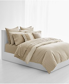 CLOSEOUT! Lauren Ralph Lauren Graydon Cotton Bold Stripe Full/Queen Duvet Cover