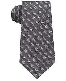 Calvin Klein Men's Ikat Denim Neat Tie