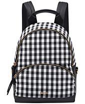 Nine West Taren Gingham Small Backpack