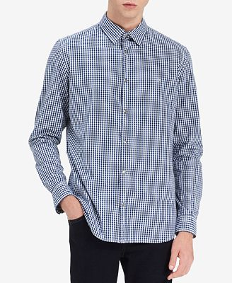 Calvin Klein Jeans Men's Gingham Check Shirt