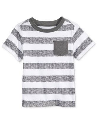 Striped Cotton T-Shirt, Baby Boys, Created for Macy's
