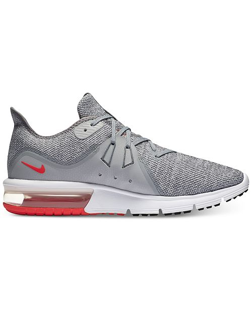 on sale 529f7 93774 ... Nike Men s Air Max Sequent 3 Running Sneakers from Finish ...