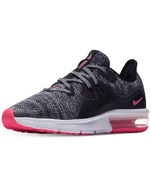 fe7021ba31778b Nike Big Girls  Air Max Sequent 3 Running Sneakers from Finish Line ...