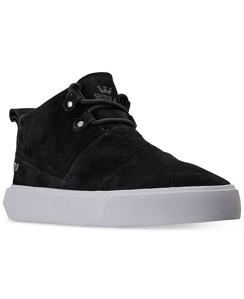 19020441d9f2 SUPRA Men s Charles Casual Sneakers from Finish Line   Reviews ...