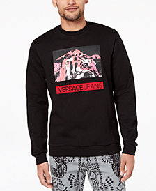 Versace Men's Tiger-Print Sweatshirt