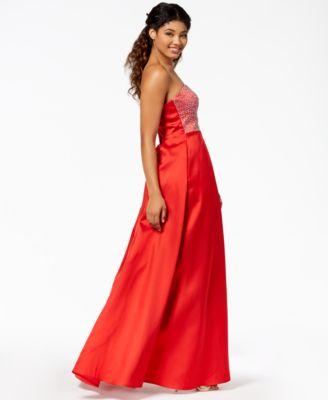 Macy's Strapless Dresses