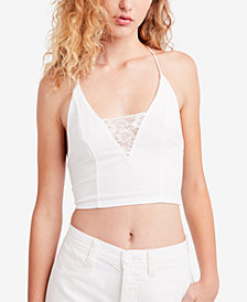 Free People The Century Lace-Trim Bralette